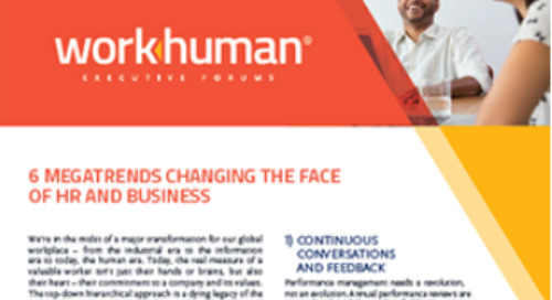Top 6 Megatrends Changing the Face of HR and Business