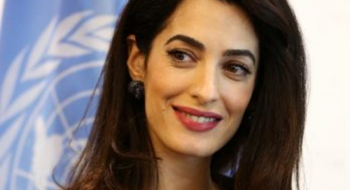 International Human Rights Lawyer Amal Clooney to Speak at WorkHuman 2018