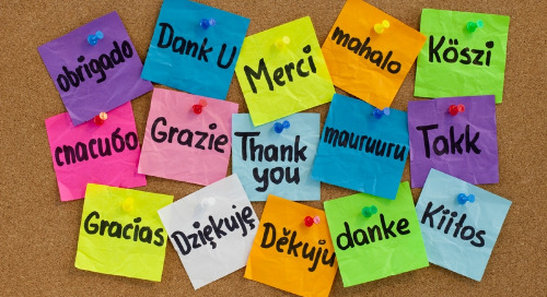 The Art of a Graceful Thank You:  A Primer for Peer-to-Peer Recognition