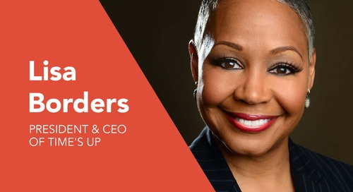TIME'S UP CEO Lisa Borders Joins WorkHuman 2019 Panel