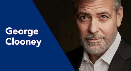 George Clooney: Actor, Humanitarian, Entrepreneur, and WorkHuman Speaker