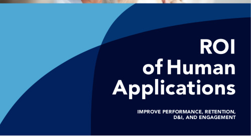 The ROI of Human Applications