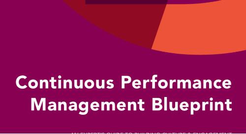 Continuous Performance Management Blueprint