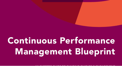 Continuous Performance Management Blueprint