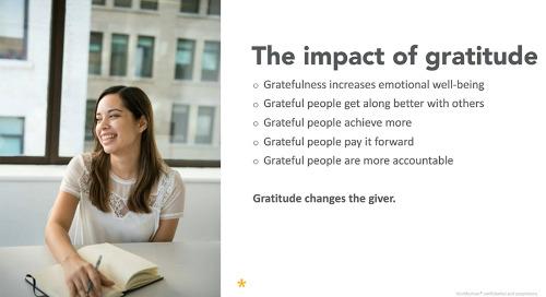 How to Build a Culture of Gratitude