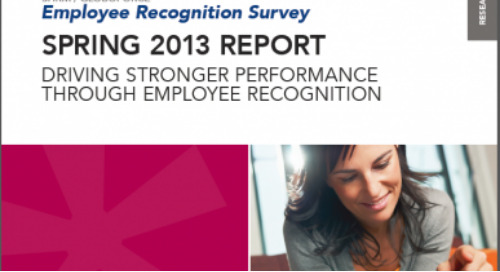 SHRM/Globoforce Spring 2013 Survey Report is Now Available
