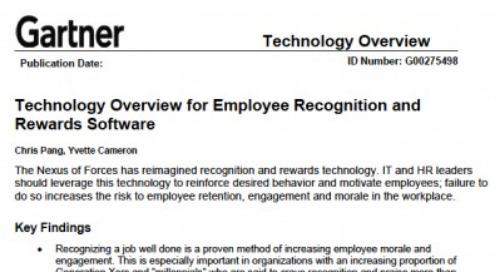 Gartner's New Report on Recognition Technology
