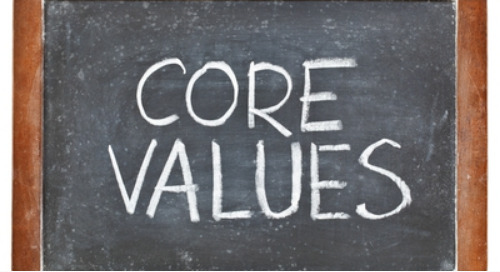 Get Your Values off the Wall (2 of 3)