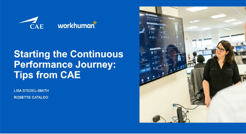 Starting the Continuous Performance Journey - Tips from CAE