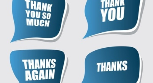 "Bersin Says ""Thanks"" Critical for Employee Engagement"
