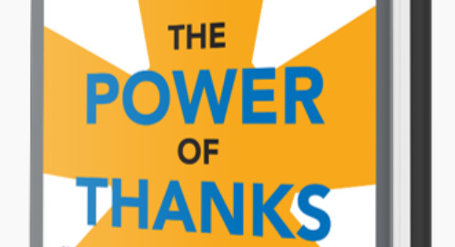 The Power of Thanks Named Silver Medalist in Axiom Business Book Awards