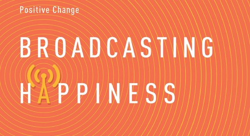 """Workhuman Book Club: """"Broadcasting Happiness"""" by Michelle Gielan"""