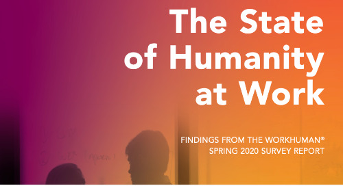 """New Research Report: """"The State of Humanity at Work"""""""