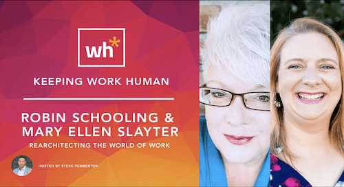[Video] Rearchitecting the World of Work