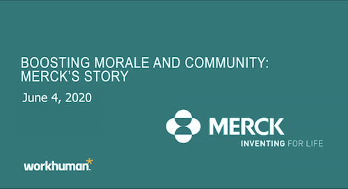 How to Boost Morale and Community: Merck's Story