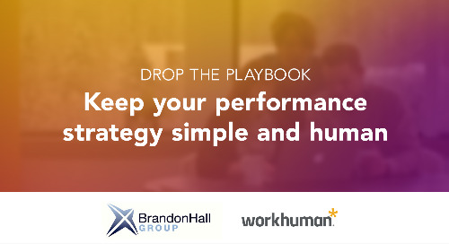 Drop the Playbook: Keep Performance Development Simple and Human