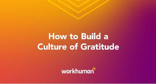 How to Build a Culture of Gratitude