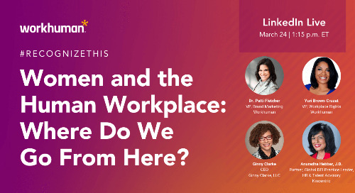 Women and the Human Workplace: Where Do We Go from Here?
