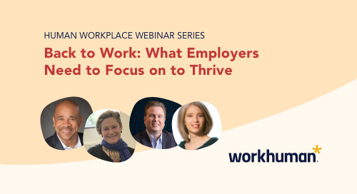 Back to Work: What Employers Need to Focus on to Thrive