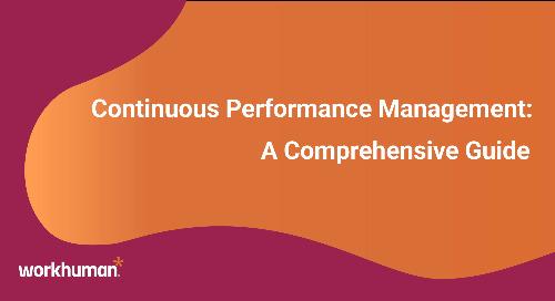 Continuous Performance Management: A Comprehensive Guide