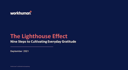 The Lighthouse Effect: Nine Steps to Cultivating Everyday Gratitude