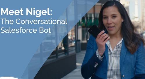 ナイジェルのご紹介: 会話型 Salesforce Bot