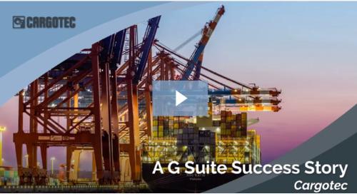 お客様事例動画 - カーゴ・テックによる G Suite 導入