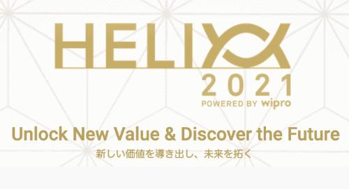 <1/14(木)開催 Helix 2021> 21時間の壮大なバーチャル体験をお楽しみください