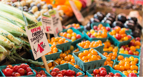 Tricks for Shopping at a Farmers' Market