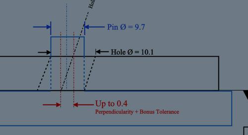 Perpendicularity of Precision Cut Small Metal Parts
