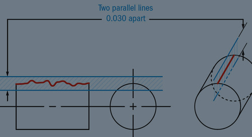 Measuring Straightness in Small Metal Parts