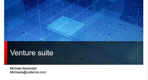 Moog Webex Session: Review of Venture Suite and Features
