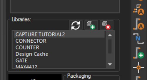 Capture Walk-through 3: Placing Parts