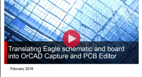 Migrate Eagle Schematic and PCB Data to OrCAD