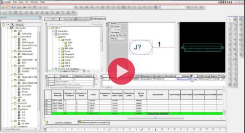 OrCAD Capture CIS (Component Information System)