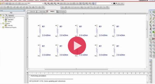 Custom Reference Designator Control