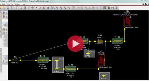 SI Analysis in PCB Designer Professional