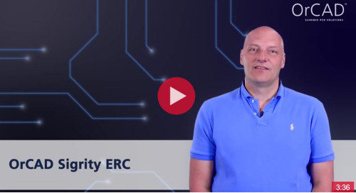 What is OrCAD Sigrity ERC?