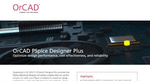 OrCAD PSpice Designer Plus