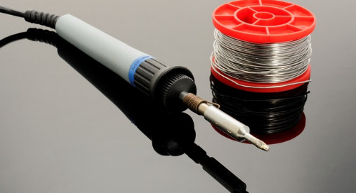 What are the different types of solder?