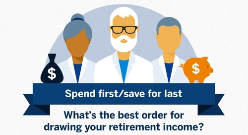 What's the best order for drawing your retirement income