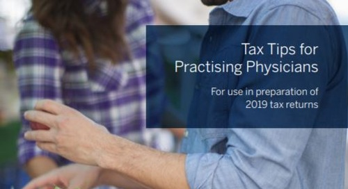 Tax tips for practising physicians