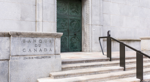 Bank of Canada: Target rate to stay put until later in 2022