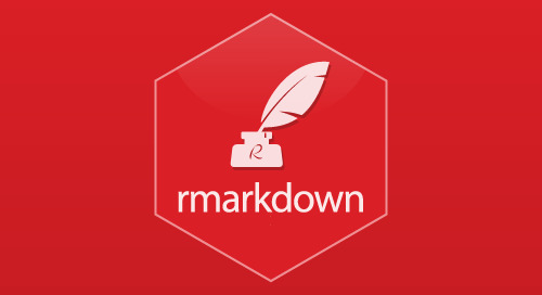 R Markdown and knitr make it easy to intermingle code and text to generate compelling reports and presentations that are never out of date.