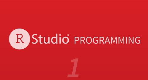 Programming - Part 1 (Writing code in RStudio)