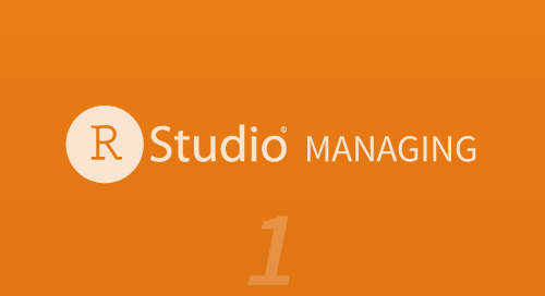 Managing - Part 1 (Projects in RStudio)