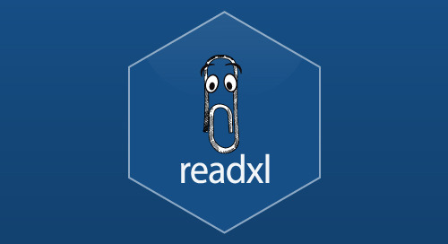 readxl 1.1.0 - readxl package makes it easy to get tabular data out of Excel files and into R with code, not mouse clicks.