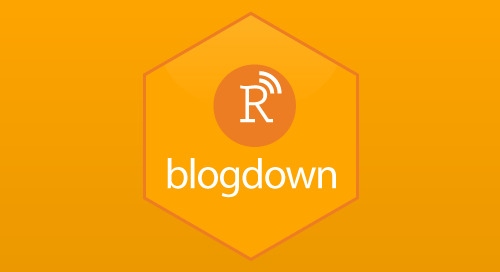 Announcing blogdown: Create Websites with R Markdown
