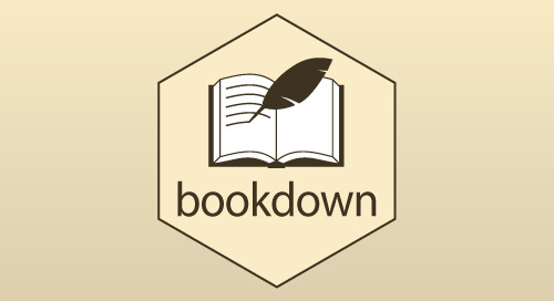 Introducing bookdown