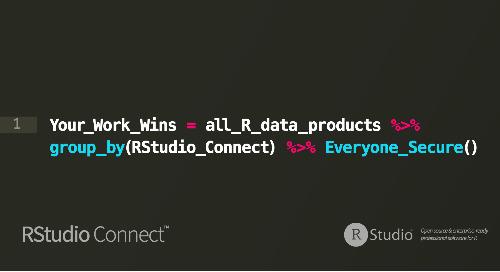 RStudio Connect Version 1.6.4